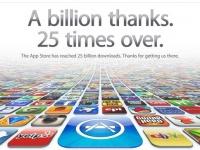25 миллиардов загрузок из App Store
