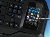 Roccat Phobo – игровая клавиатура с док-станцией для смартфона