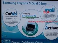 Спецификации процессора Samsung Exynos 5 включают пару ядер ARM Cortex-A15