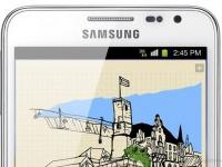 Samsung Galaxy Note: почва прощупывается