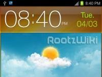Скриншоты Samsung Galaxy Note с Android 4.0 ICS