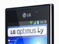 В Европе начинаются продажи смартфона LG Optimus L7