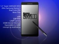 Samsung представит приемника Samsung Note