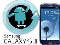 Владельцы Samsung Galaxy S III не спешите обновляться до CyanogenMod 9 Nightlies