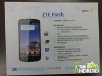 Китайская ZTE и оператор Sprint готовятся анонсировать прогрессивный Android-смартфон