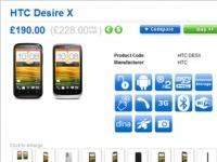 Объявлена цена смартфона HTC Desire X