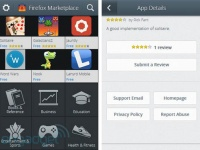 В Сети «засветились» иллюстрации магазина приложений Firefox OS