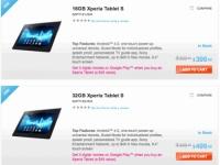 Планшет Sony Xperia Tablet S поступил в продажу: цены и модификации