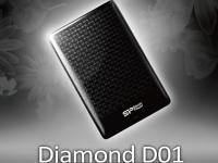 Silicon Power выпускает новый портативный жесткий диск – легкий и компактный Diamond D01