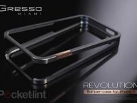 Компания Gresso анонсировала титановый бампер для iPhone нового поколения