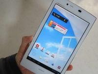 NEC Medias Tab UL N08-D: анонсирован самый легкий планшет в мире