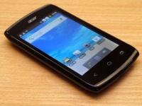 Acer Z110: Acer представила недорогой dual-SIM смартфон