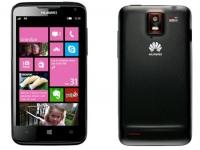 Huawei W1: первый WP8-смартфон Huawei