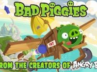 Bad Piggies от создателей  Angry Birds уже доступны для установки. Бесплатно!