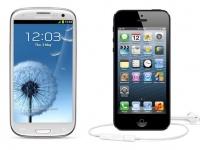 У iPhone 5 дисплей лучше, чем в смартфоне Samsung Galaxy S III