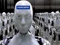 На Foxconn начали заменять людей роботами