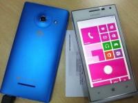 В Сети «засветилось» фото Huawei Ascend W1 в бело-синем корпусе