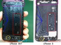 Первые фотографии корпуса смартфона iPhone 5S