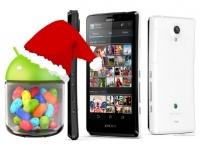 Для смартфонов Sony Xperia T анонсировано обновление операционной системы до Android 4.1.2