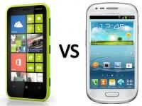 Тестирование показало, что смартфон Nokia Lumia 620 оказался лучше смартфона Samsung Galaxy S III