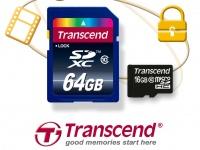 Новые карты памяти Transcend с системой защиты от копирования