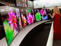LG Electronics анонсировала свой первый OLED-телевизор с изогнутым экраном