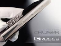 Gresso Cruiser Titanium White – люксовый телефон для женщин