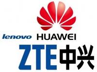 Huawei, ZTE и Lenovo стремятся расширить свое присутствие на международном рынке смартфонов