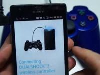 Смартфоны Sony Xperia получат поддержку контролера DualShock 3