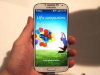 На официальном видео Samsung засветился коричневый Galaxy S4