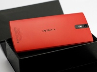 Oppo Find 5 теперь в красном цвете