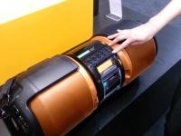 Sharp GX-M10H — новая переносная аудиосистема c док-станцией