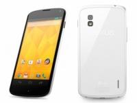 Белые смартфоны Nexus 4 уже полностью распроданы в Google Play