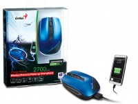 Genius Energy Mouse – внешний аккумулятор и компьютерная мышка в одном устройстве