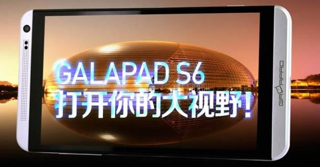 GalaPad S6 — двухсимочный планшетофон с внешностью HTC One Max