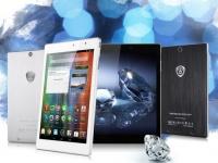 Prestigio представляет планшет с «алмазной огранкой»