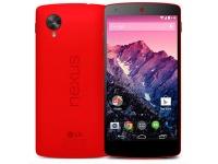 Красный LG Nexus 5