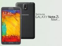 Фото Samsung Galaxy Note 3 Neo в корпусе цвета «мятный лимон»