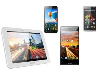Archos представила 4G-планшет, новый смартфон и планшетофон