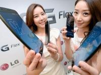 В Украине старутуют продажи смартфона с изогнутым дисплеем - LG G Flex