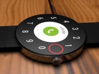 Представлен концепт смарт-часов HTC Android Wear с круглым безрамочным дисплеем