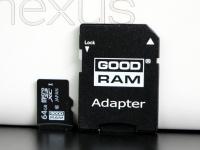 Тестирование скорости карты памяти GOODRAM microSDXC class 10 UHS 1 64 ГБ
