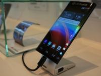CES 2015: LG представила фаблет с загнутым с двух сторон дисплеем