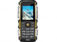 teXet – ТМ-512R - защищенный мобильный телефон с мощным аккумулятором