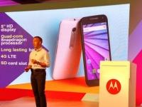 Motorola анонсировала защищенный смартфон Moto G (3rd Gen)