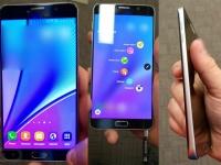 Флагманский Samsung Galaxy Note 5 на качественных фото