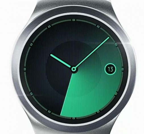 Samsung показала круглые часы Gear S2