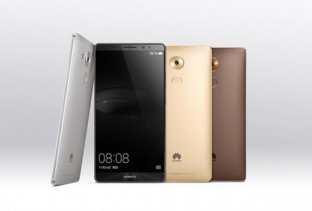 Продажи телефона Huawei Mate 8 стартуют 9декабря