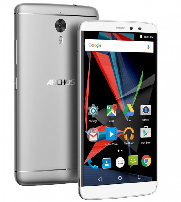 Archos представила смартфон Diamond 2 Plus с 4 ГБ RAM