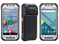 MWC 2016: Panasonic Toughpad FZ-F1 and FZ-N1 — сверхзащищенные смартфоны со сканером штрих-кода